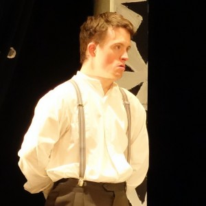 Tommy Jessop in Blue Apple Theatre's The Hotel