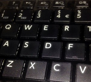 Photo of keyboard
