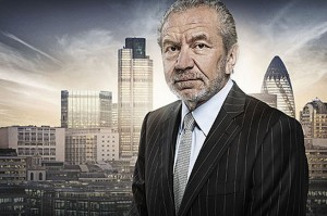 Lord Sugar of The Apprentice