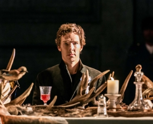 Bendict Cumberbatch as Hamlet