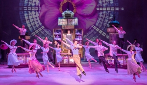 Scene from An American In Paris, theatre review by Paul Seven Lewis