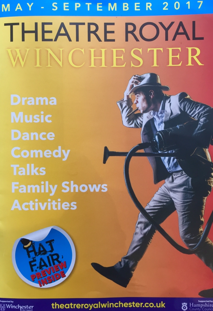 Cover of Theatre Royal Winchester brochure
